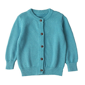 Children Toddler Kids Sweaters Cardigan Candy Color Girls Boys Wild For Kids 1-5 Years Old Baby Girls Boys Cute Shirts Tops