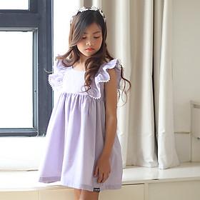 Đầm bé gái công chúa Lọ Lem màu Tím Kika K080
