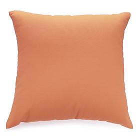 Gối trang trí Soft Decor 40 Orange Canvas 40x40x15cm (Cam)