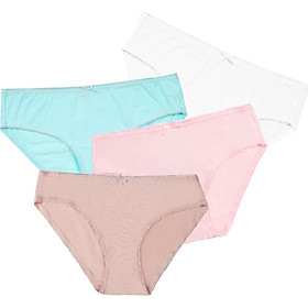 Combo 04 quần lót nữ cotton Vera 7166