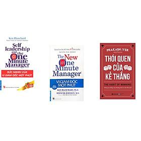 Combo 3 cuốn sách: Sức Mạnh Của Vị Giám Đốc Một Phút + Vị Giám Đốc Một Phút + Thói Quen Của Kẻ Thắng