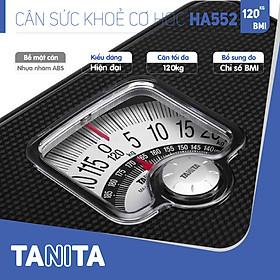 Cân sức khoẻ cơ học TANITA HA552,chính hãng nhật bản,cân cơ học,cân chính hãng,cân nhật bản,cân sức khoẻ y tế,cân sức khoẻ gia đình,cân sức khoẻ cao cấp,120kg,Cân phân tích chỉ số cơ thể,Cân sức khoẻ min