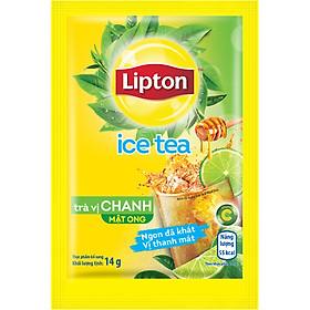 Lipton Trà Hòa Tan Vị Chanh Mật Ong (16 Gói x 14g)