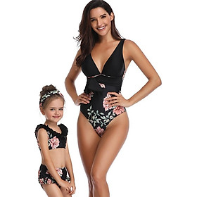 Family Clothing Mother Daughter Swimsuits Set Summer Mother Daughter Clothes Swimsuits Floral Swimwear Clothes 2019 New Swimsuit