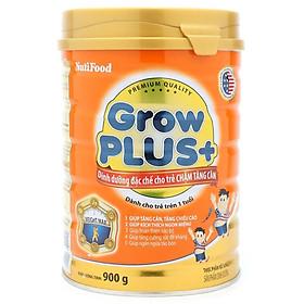 3 Hộp Sữa Bột Nutifood Grow Plus+ Cam (900g)