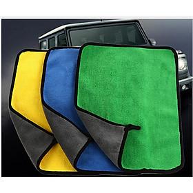 Combo 03 Khăn Lau Xe Ô Tô Đa Năng Siêu Thấm CAR01. Kích Thước 30cm x 40cm ( Giao màu ngẫu nhiên )