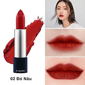 Son môi lâu trôi thảo dược KISSON việt nam (3.5g) - HÀNG CHÍNH HÃNG-1