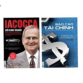 Combo 2 cuốn ; Iacoca Đời kinh doanh + Báo cáo tài chính ( tặng giá đỡ iring như hình )