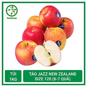 Táo Jazz New Zealand Size 120, Giòn Ngọt - Túi 1Kg (6-7 Quả) - Foodmap