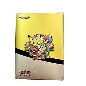 Bộ Thẻ Bài Chơi Pokemon 100 Thẻ (Gx,Mega,trainer) Thẻ Tiếng Anh Cao Cấp