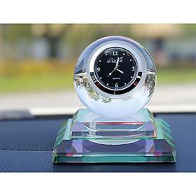 Nước hoa xe hơi, xe ô tô tích hợp đèn Led, đồng hồ trang trí.