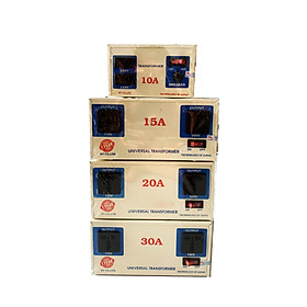 Biến áp, biến thế  bộ đổi nguồn 1-1.5-2-3KVA 220v sang 110v - 100v dùng cho máy nội địa