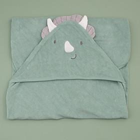 khăn chăn màu xanh ngộ nghĩnh cho bé