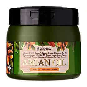 Kem ủ tóc phục hồi chuyên sâu cho tóc yếu và hư tổn chiết xuất dầu Argan Scentio Hair Professional 250ml