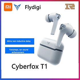 Flydigi TWS Stereo Earphones Wireless Earbuds BT 5.0 Headphones with Touch Control IP54 Waterproof Sports Headphones