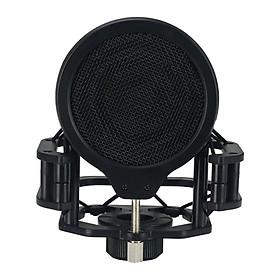 Microphone Shock Mount for Levitt Plastic Pop Filter Mesh Mic Mount Holder