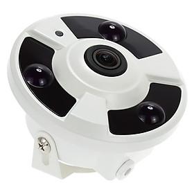 Camera Mắt Cá Giám Sát CCTV Toàn Cảnh Trong Nhà Tầm Nhìn Ban Đêm Hệ Màu PAL KKmoon (HD 2000TVL - 1080P - 1.7mm - 360°)