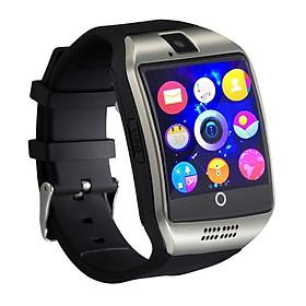 Đồng Hồ Đeo Tay Thông Minh Có Bluetooth, Camera, TF / Khe Cắm Thẻ Sim Cho Điện Thoại Samsung Android, iPhone - Bạc