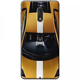Hình đại diện sản phẩm Ốp lưng dành cho Nokia 6 mẫu Xe hơi vàng