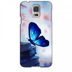 Ốp lưng dành cho điện thoại SAMSUNG GALAXY S5 Cánh Bướm Xanh Mẫu 2