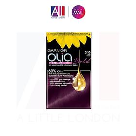 Thuốc nhuộm tóc Garnier Olia Permanent Hair Color - 3.16 Deep Violet