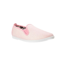 Giày Lười Nữ Flossy W Gallinero Pink - Hồng