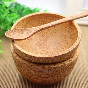 Combo 2 Chén Gỗ Dừa Lâu Năm Loại Lớn 11-12cm