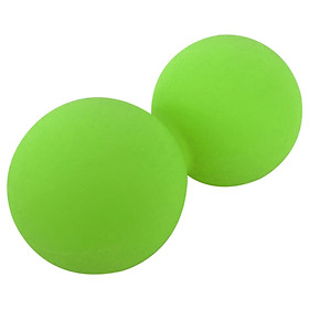 Peanut Massage Balls Double Lacrosse Ball Silicone Deep Tissue Massage Tool Muscle Reliefer Mobility Ball for Physical