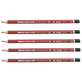 Bộ 5 Bút chì gỗ Thiên Long GP-01