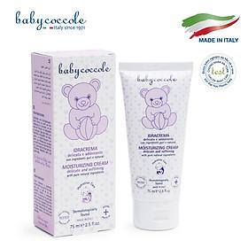 Kem dưỡng ẩm cho bé chiết xuất hạnh nhân Babycoccole 75ml 0M+