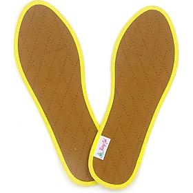 Lót giày quế vải cotton CI-01 hút ẩm, khử mùi hôi chân, cải thiện sức khỏe