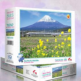 Tranh xếp Hình Tia Sáng Núi Phú Sĩ (925 mảnh ghép)