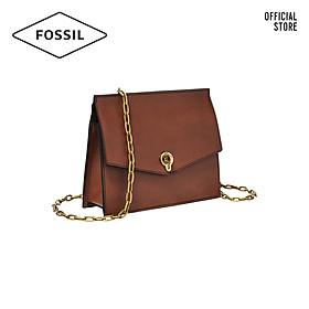 Túi đeo chéo nữ thời trang Fossil Stevie Small Crossbody ZB7882200 - màu nâu
