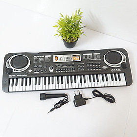 Bộ Đàn Organ 61 Phím Cho Bé - Đàn Piano Điện Tử Kèm Mic Cho Bé - Hàng chính hãng