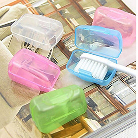 5PCS Portable Toothbrushes Head Cover Holder Travel Hiking Camping Toothbrushe Head Case Easy saving Outdoor Supplies
