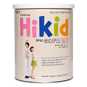Sữa Bột Hikid Hương Vani (600g)