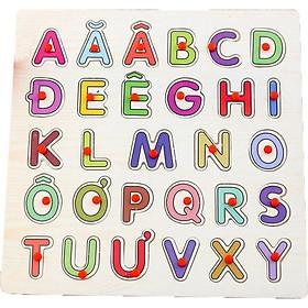 Bảng chữ tiếng việt có núm