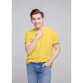 Áo Thun Nam Trơn Màu Vàng (Free Size) m1