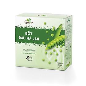 Bột đậu hà lan nguyên chất Goce Việt Nam 180g (18 gói x 10g) giá tốt, tốt cho sức khỏe, nguyên chất không đường