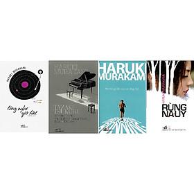 Combo 4 Cuốn Của Tác Giả Haruki Murakami: Lắng Nghe Gió Hát + Tôi Nói Gì Khi Nói Về Chạy Bộ + Rừng na uy + Tazaki Tsukuru Không Màu Và Những Năm Tháng Hành Hương
