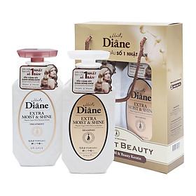 Dầu xả Moist Diane Extra Shine Treatment - Cho tóc khô, xỉn màu, không mượt Hàn Quốc 45ml tặng kèm móc khoá-6