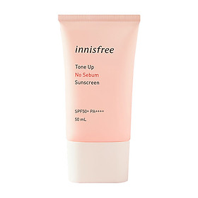 Kem Chống Nắng Innisfree Tone Up No Sebum Sunscreen SPF50+ PA++++ (50ml)