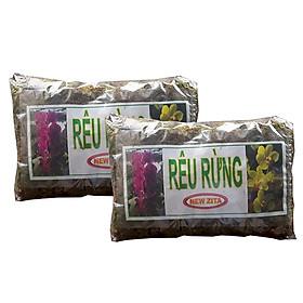 Combo 2 gói rêu rừng trồng hoa lan (100g/gói) - Giá thể trồng hoa lan