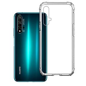 Ốp Lưng Chống Sốc cho điện thoại Huawei Nova 5T - 04074 - Dẻo Trong - Hàng Chính Hãng