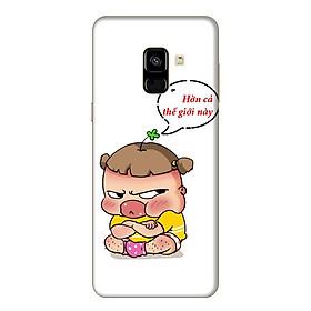 Ốp Lưng Dành Cho Samsung Galaxy A8 2018 Quynh Aka 2