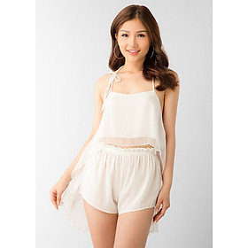 Đồ Bộ Ngủ Nữ Sexy Forever Helia - Trắng (Freesize)