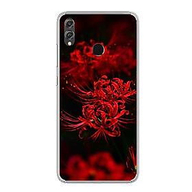 Ốp lưng dẻo cho điện thoại Huawei Honor 8X - 0599 HOABINGAN10 - Hàng Chính Hãng