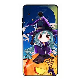 Hình đại diện sản phẩm Ốp lưng Halloween viền TPU cho điện thoại Xiaomi Redmi Note 4 - Mẫu 04