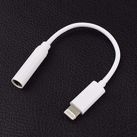 Dây Cáp Chuyển Đổi Lightning Sang jack tai nghe 3.5mm cho iPhone iPad tương thích mọi hệ điều hành IOS - Hàng nhập khẩu