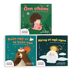 Sách Ehon - Combo 3 cuốn Buồn ngủ ơi là buồn ngủ - Dành cho trẻ từ 0 - 6 tuổi
